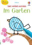 Cover-Bild zu Kleine Kreativ-Werkstatt - Ganz einfach ausmalen: Im Garten von Robson, Kirsteen