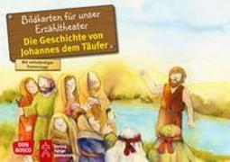 Cover-Bild zu Die Geschichte von Johannes dem Täufer. Kamishibai Bildkartenset von Hartmann, Frank
