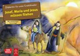 Cover-Bild zu Josef, Maria und Jesus müssen fliehen. Kamishibai Bildkartenset von Nommensen, Klaus-Uwe