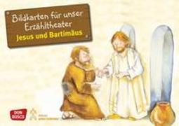 Cover-Bild zu Bildkarten für unser Erzähltheater: Jesus und Bartimäus von Brandt, Susanne