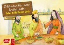 Cover-Bild zu Ester hilft ihrem Volk. Kamishibai Bildkartenset von Brandt, Susanne
