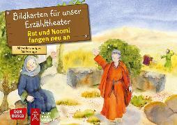 Cover-Bild zu Rut und Noomi fangen neu an. Kamishibai Bildkartenset von Brandt, Susanne