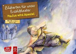 Cover-Bild zu Paulus wird Apostel. Kamishibai Bildkartenset von Nommensen, Klaus-Uwe