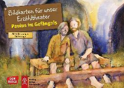 Cover-Bild zu Paulus im Gefängnis. Bildkartenset von Nommensen, Klaus-Uwe