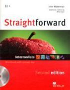 Cover-Bild zu Straightforward 2nd Edition Intermediate Level Workbook with key & CD Pack von Waterman, John