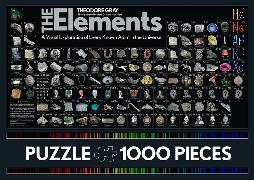 Cover-Bild zu The Elements Jigsaw Puzzle von Mann, Nick