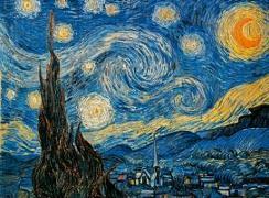 Cover-Bild zu van Gogh - Sternennacht. Puzzle von Hinz, Hans