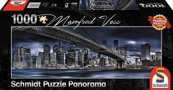 Cover-Bild zu Panorama New York Dark Night