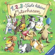 Cover-Bild zu 1,2,3 - Viele kleine Osterhasen von Penners, Bernd