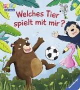 Cover-Bild zu Welches Tier spielt mit mir? von Penners, Bernd