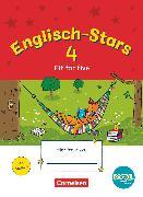 Cover-Bild zu Englisch-Stars, BOOKii-Ausgabe, 4. Schuljahr, Fit for 5, Übungsheft, Mit Lösungen