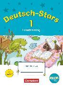 Cover-Bild zu Deutsch-Stars, BOOKii-Ausgabe, 1. Schuljahr, Lesetraining, Übungsheft, Mit Lösungen von Scholtes, Cornelia