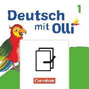 Cover-Bild zu Deutsch mit Olli, Erstlesen - Ausgabe 2021, 1. Schuljahr, Arbeitsheft Start und Basis / Plus in Grundschrift, Im Paket, mit BOOKii-Funktion