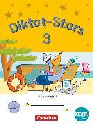 Cover-Bild zu Diktat-Stars, BOOKii-Ausgabe, 3. Schuljahr, Übungsheft, Mit Lösungen von Auer, Maria