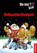 Cover-Bild zu Die drei ??? Kids Weihnachtsrätselbuch von Blanck, Ulf