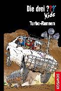 Cover-Bild zu Die drei ??? Kids, 81, Turbo-Rennen (drei Fragezeichen Kids) (eBook) von Pfeiffer, Boris