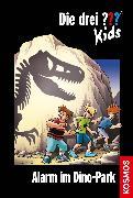 Cover-Bild zu Die drei ??? Kids 61. Alarm im Dinopark (drei Fragezeichen Kids) (eBook) von Pfeiffer, Boris