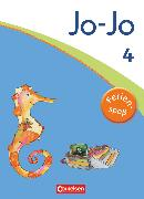 Cover-Bild zu Jo-Jo Sprachbuch, Allgemeine Ausgabe 2011, 4. Schuljahr, Ferienspaß mit Jo-Jo, Übungsheft, Beilage mit farbigen Klebestickern von Lemke, Liane