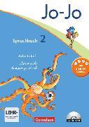 Cover-Bild zu Jo-Jo Sprachbuch, Allgemeine Ausgabe 2011, 2. Schuljahr, Arbeitsheft in Lateinischer Ausgangsschrift, Mit CD-ROM von Brunold, Frido