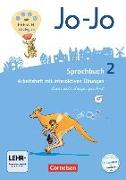 Cover-Bild zu Jo-Jo Sprachbuch, Allgemeine Ausgabe - Neubearbeitung 2016, 2. Schuljahr, Arbeitsheft in Lateinischer Ausgangsschrift, Mit interaktiven Übungen auf scook.de und CD-ROM von Brunold, Frido
