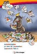Cover-Bild zu Lesestart mit Eberhart - Arbeitsblätter zu den 50 Leseheften von Brandau, Nicole