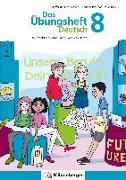 Cover-Bild zu Das Übungsheft Deutsch 8 von Drecktrah, Stefanie