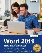 Cover-Bild zu Word 2019 - Stufe 2: Aufbauwissen (eBook) von Baumeister, Inge