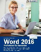 Cover-Bild zu Word 2016 Profiwissen für Anwender (eBook) von Baumeister, Inge