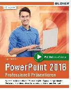 Cover-Bild zu PowerPoint 2016 (eBook) von Baumeister, Inge