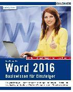 Cover-Bild zu Word 2016 - Basiswissen (eBook) von Baumeister, Inge