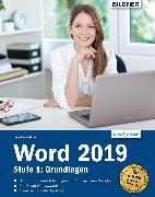 Cover-Bild zu Word 2019 - Stufe 1: Grundlagen (eBook) von Baumeister, Inge