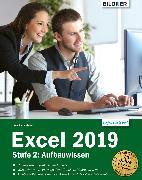 Cover-Bild zu Excel 2019 - Stufe 2: Aufbauwissen (eBook) von Baumeister, Inge