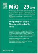 Cover-Bild zu MiQ 29: Hochpathogene Erreger, Biologische Kampfstoffe, Teil IV von Podbielski, Andreas (Hrsg.)