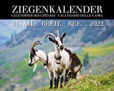 Cover-Bild zu Ziegenkalender / Calendrier des chèvres / Calendario delle capre 2022