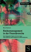 Cover-Bild zu Risikomanagement in der Finanzbranche von Rüstmann, Marco