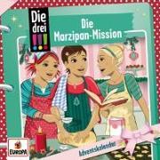 Cover-Bild zu Die drei !!!: Adventskalender/Die Marzipan-Mission