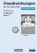 Cover-Bild zu Schlüssel zur Mathematik, Differenzierende Ausgabe Niedersachsen, 7. Schuljahr, Handreichungen für den Unterricht, Kopiervorlagen mit CD-ROM