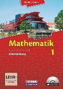 Cover-Bild zu Bigalke/Köhler: Mathematik, Brandenburg - Ausgabe 2013, Band 1, Schülerbuch mit CD-ROM von Bigalke, Anton