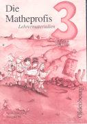 Cover-Bild zu Die Matheprofis 3. Schuljahr. Ausgabe D. Lehrermaterialien von Haller, Waltraud