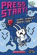 Cover-Bild zu Robo-Rabbit Boy, Go!: A Branches Book (Press Start! #7), Volume 7 von Flintham, Thomas
