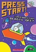 Cover-Bild zu Super Rabbit Boy Blasts Off!: A Branches Book (Press Start! #5), Volume 5 von Flintham, Thomas
