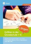 Cover-Bild zu Größen in der Grundschule Längen 1-4 von Kögel, Juliane