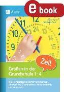 Cover-Bild zu Größen in der Grundschule: Zeit 1-4 (eBook) von Rusch, Juliane