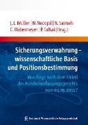 Cover-Bild zu Sicherungsverwahrung - wissenschaftliche Basis und Positionsbestimmung (eBook) von Falkai, Peter (Hrsg.)