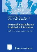 Cover-Bild zu Unternehmenskulturen in globaler Interaktion (eBook) von Reber, Gerhard