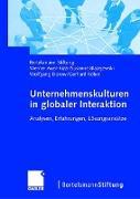 Cover-Bild zu Unternehmenskulturen in globaler Interaktion von Blazejewski, Susanne