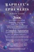 Cover-Bild zu Raphael's Astronomical Ephemeris of the Planets Places von Raphael, Edwin