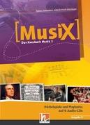 Cover-Bild zu MusiX 3. Audio-CDs (Ausgabe D). Hörbeispiele und Playbacks von Detterbeck, Markus