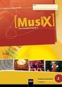 Cover-Bild zu MusiX 2. Schülerarbeitsheft (Ausgabe Bayern) von Detterbeck, Markus