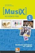 Cover-Bild zu MusiX 1. Audio-CDs. Neuausgabe 2019 von Detterbeck, Markus